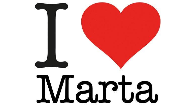 Love Marta - I love You Generator, I love NY