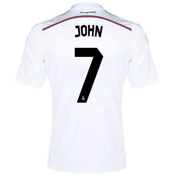 Real Madrid Soccer Jersey JOHN 7